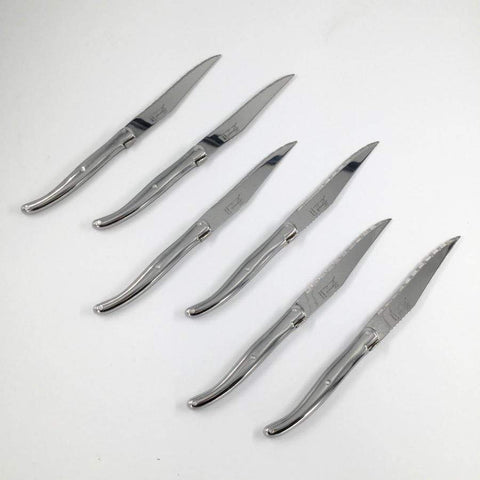 Laguiole Boxed Steak Knives - Stainless