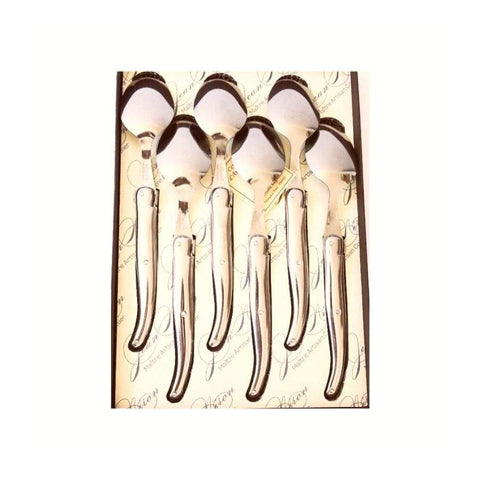 Laguiole - Gift Box Dessert Spoons - Stainless Steel