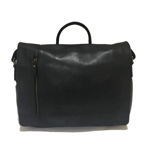 Lambada Leather Satchel- Holden