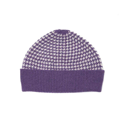 Lambswool Awe Hat - Purple