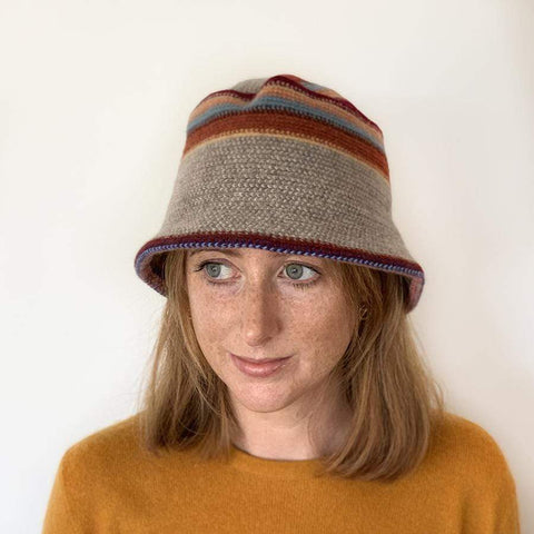 Lambswool Maree Brimmed Hat - Autumn