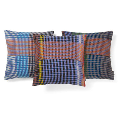 Lambswool Millicent Cushion | Blue Purple