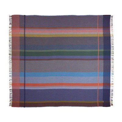 Lambswool Millicent Throw Large | Blue Purple