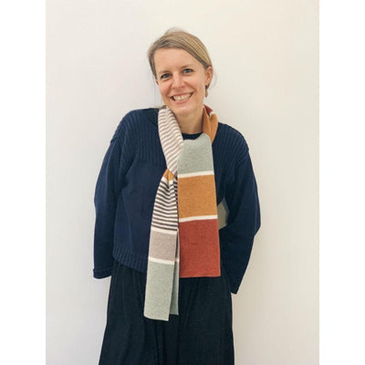 Lambswool Ness Scarf - Autumn