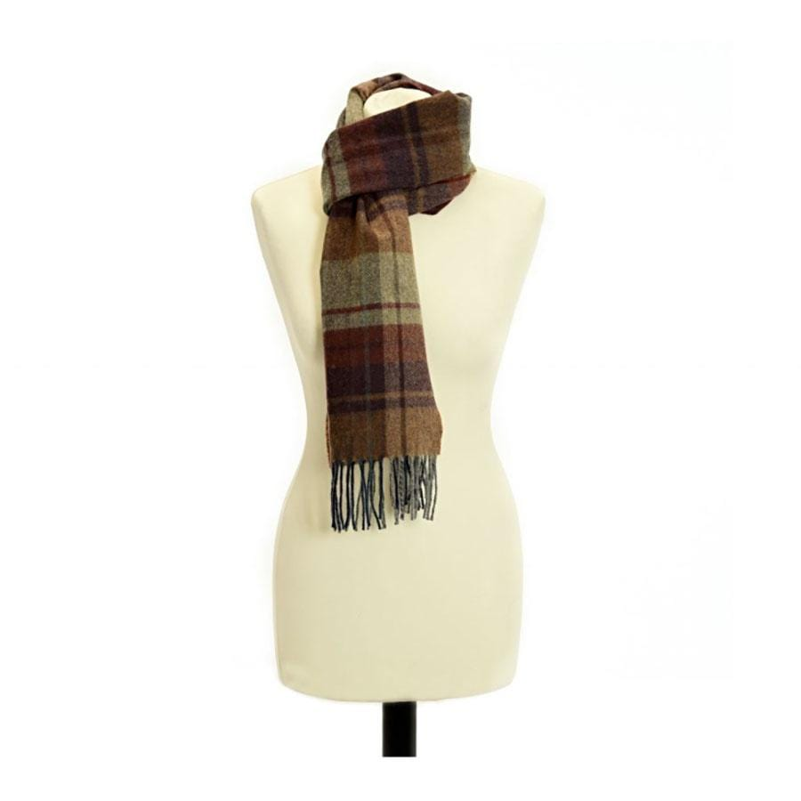 Lambswool Scarf | Rolled fringe | Arran