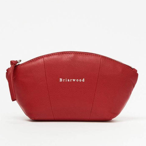 Large Cosmetic Bag - Red