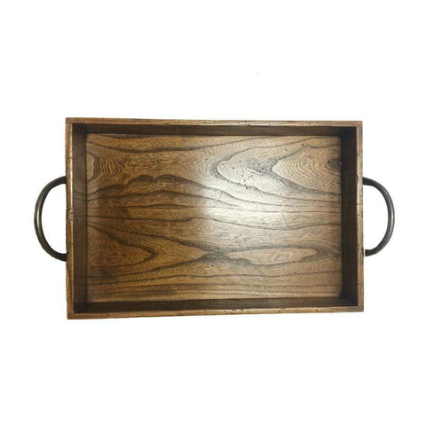 Large Elm Breakfast Tray
