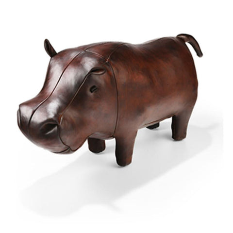 Leather Animal - Large Hippo