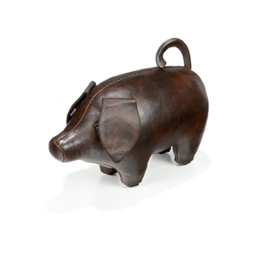 Leather Animal - Small Leather Pig