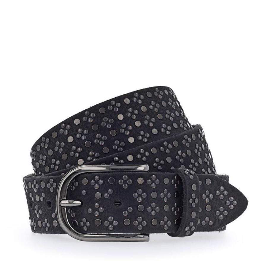 Leather Belt- L79 Black