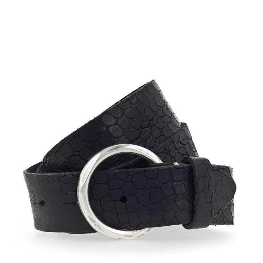 Leather Belt- L95 Black