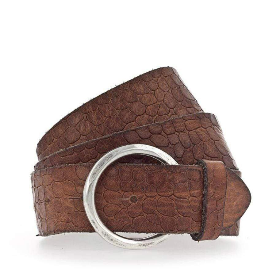 Leather Belt Sue Brown