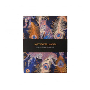 Leopards Matthew Williamson Foiled notecards