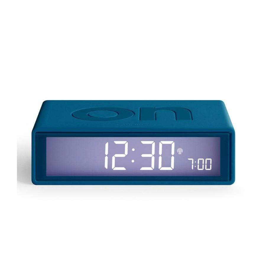 Lexon Flip Alarm Clock / Duck Egg Blue
