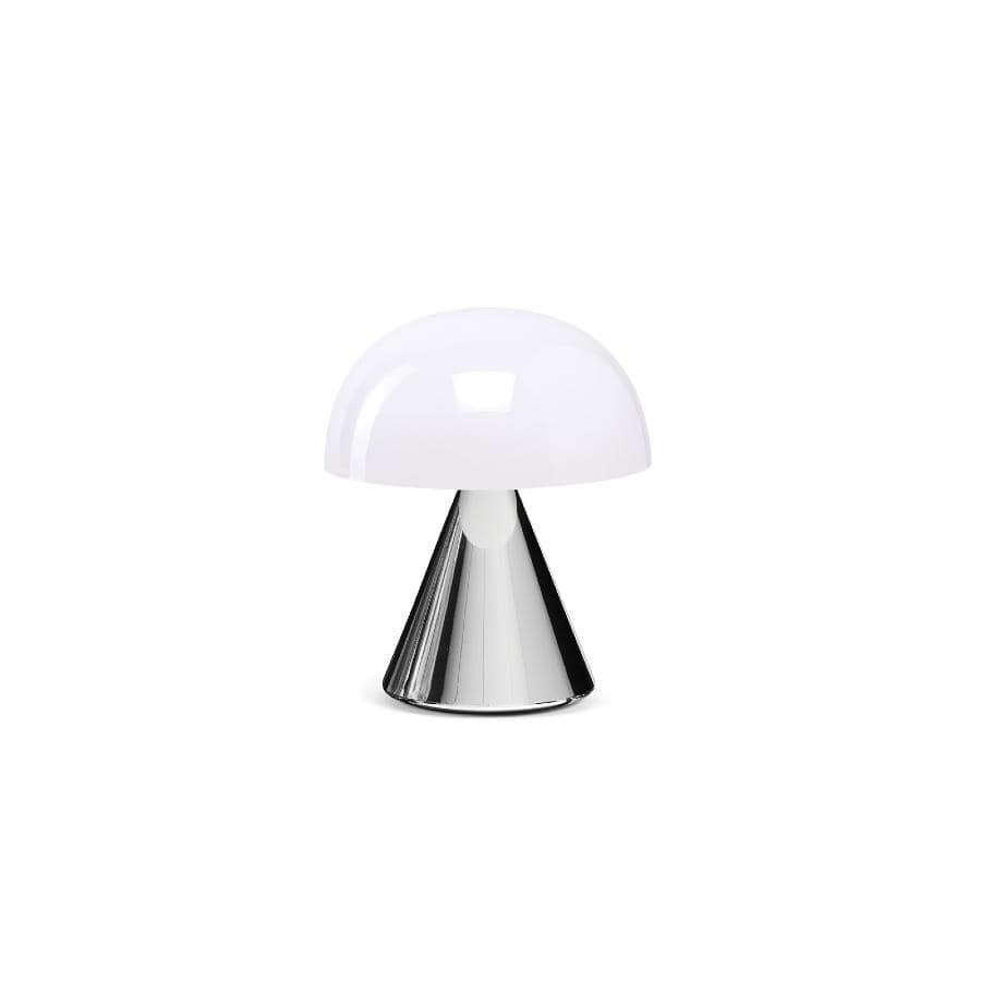 Lexon Mina LED Lamp - Small - Metalic Chrome