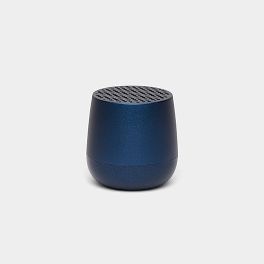 Lexon Mino Speaker - Dark Metallic Blue