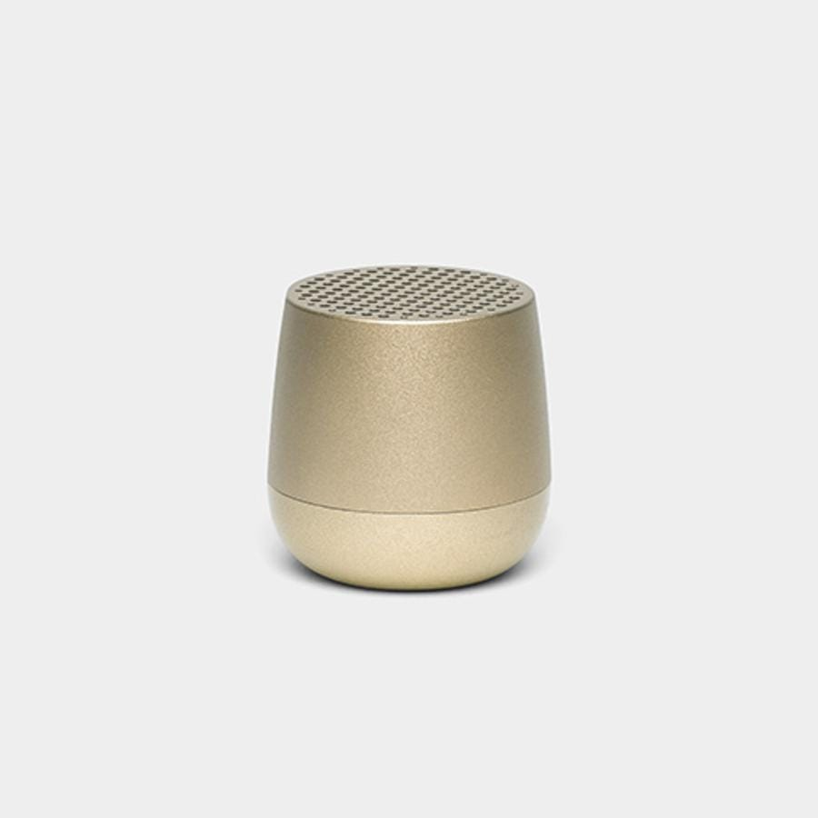Lexon Mino Speaker - Light Gold