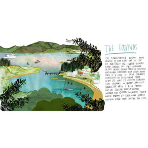 Marlborough Sounds Print