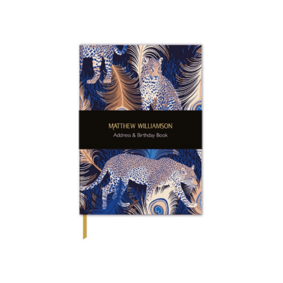 Matthew Williamson Leopards Address Book