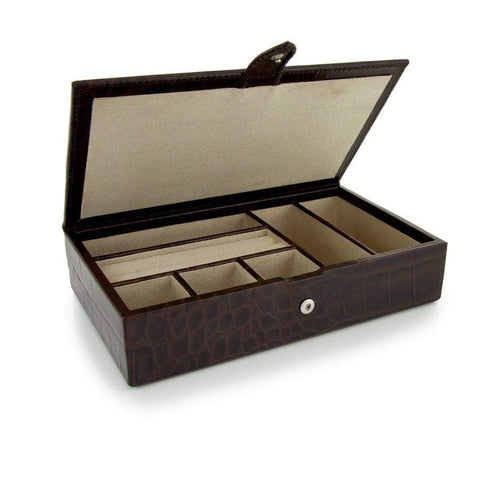 Medium Leather Jewellery Box