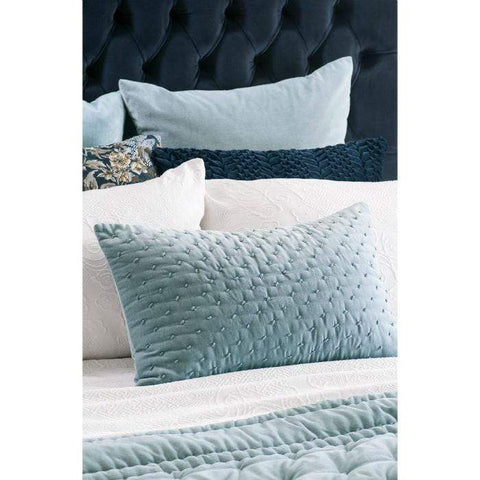 Mica Smoke Blue Cushion | Bianca Lorenne