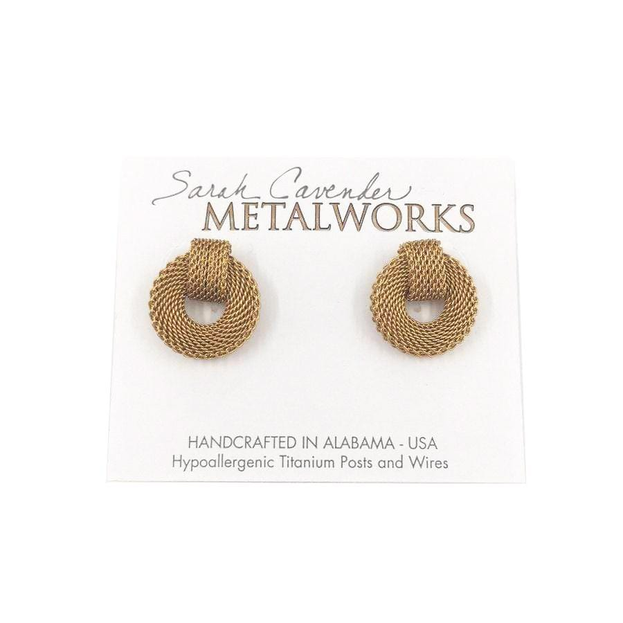 Milanese Mesh Earrings