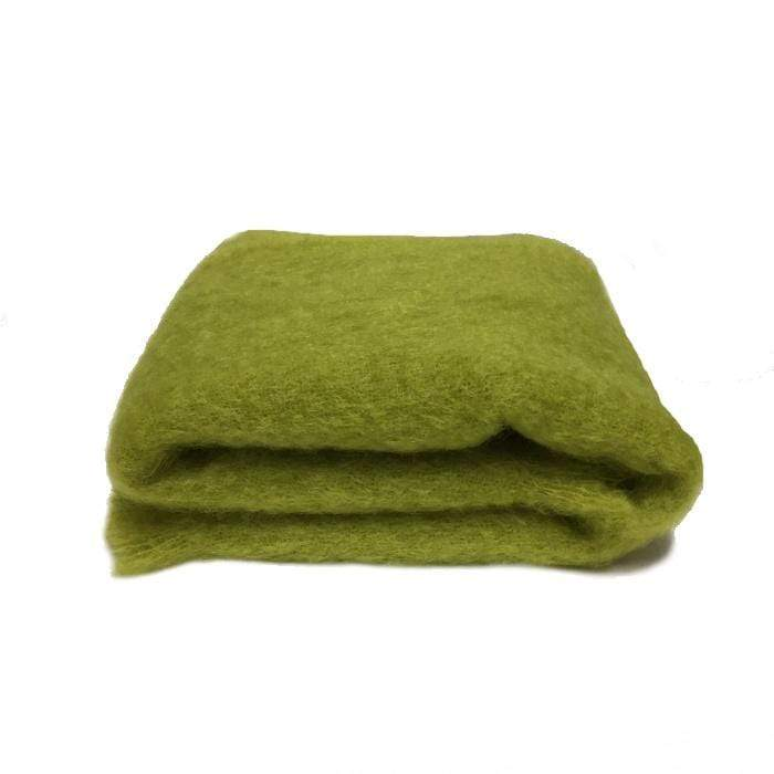 Mohair Knee Throw | Pesto