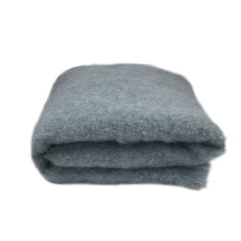 Mohair Throw | Glacier