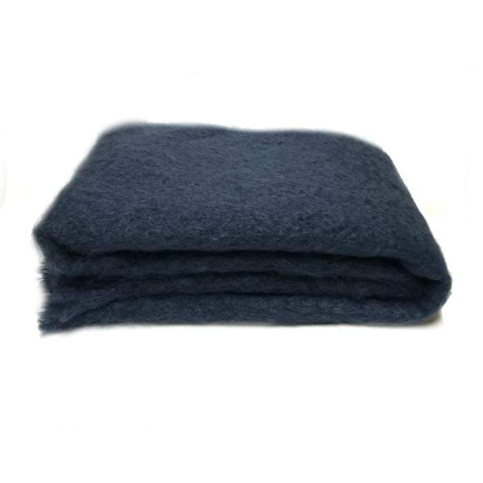 Mohair Throw | Indigo