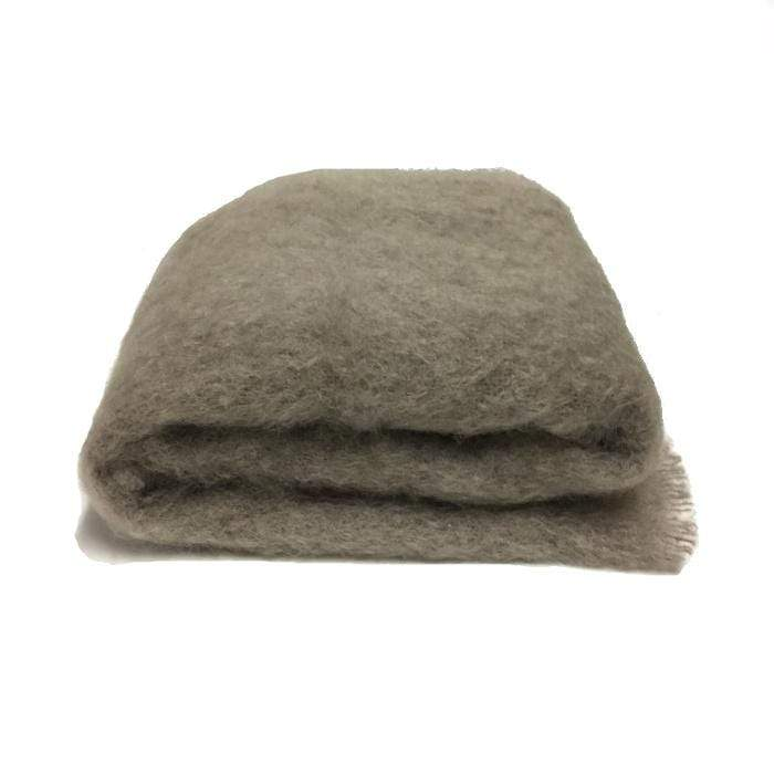 Mohair throw | Manuka