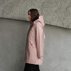 Moke Janey Raincoat Blush