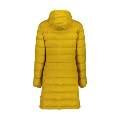 Moke Sarah | Long Duck Down Jacket | Saffron