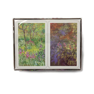 Monet Lilies Bridge Playing Cards