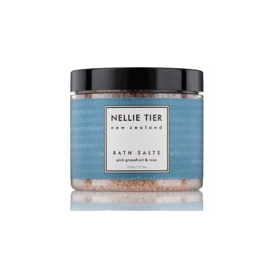 Nellie Tier Bath Salts Pink Grapefruit & Rose 400g