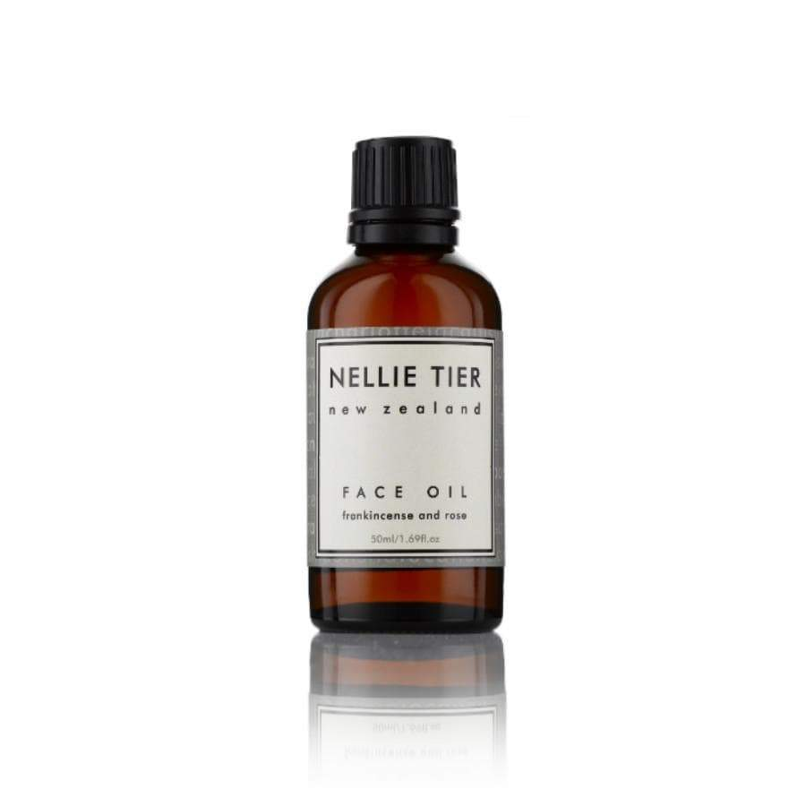 Nellie Tier Face Oil Frankincense and rose