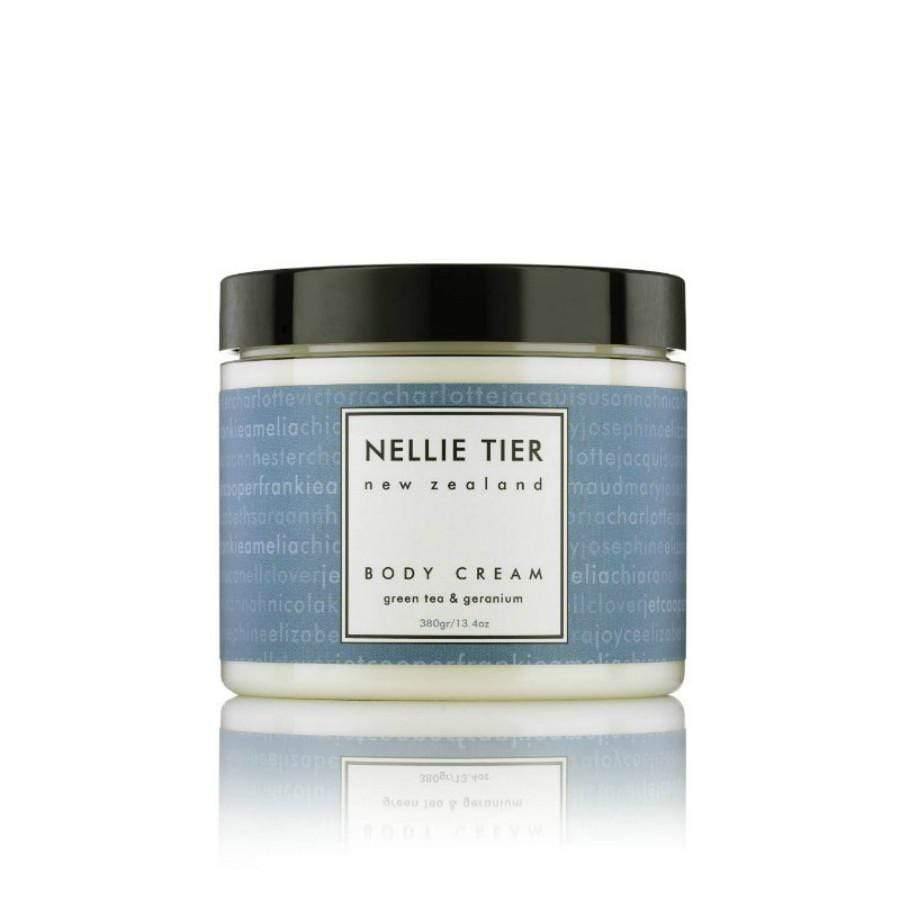 Nellie Tier Green tea and Geranium Body Cream