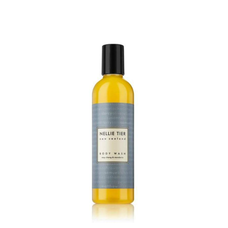 Nellie Tier Green Tea and Geranium Body Wash 250 mL
