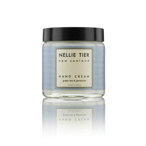 Nellie Tier Hand Cream Green Tea 120ml