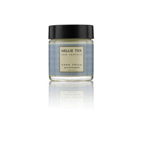 Nellie Tier Hand Cream Green Tea & Geranium 30ml