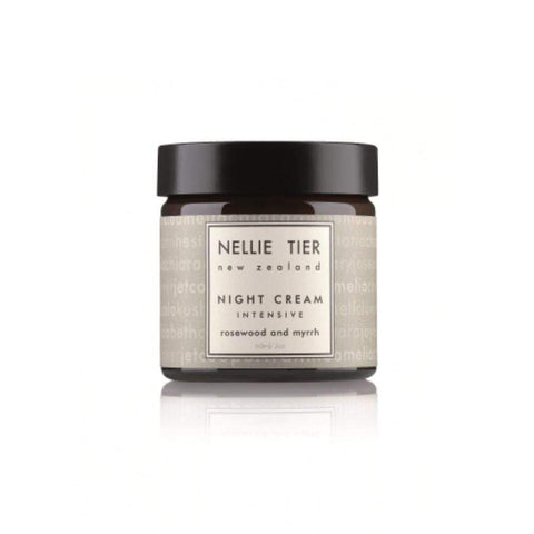 Nellie Tier Night Cream: Intensive Rosewood & Myrrh 60g