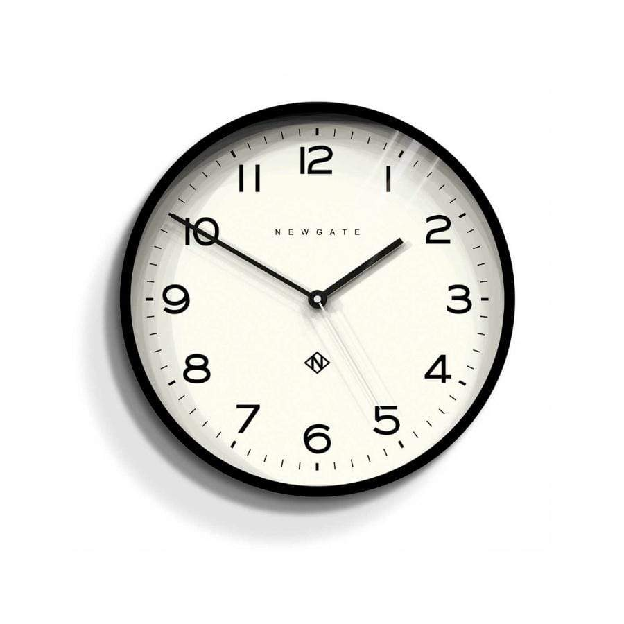Newgate Echo Clock Black 37cm