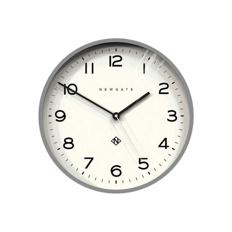 Newgate Echo Clock Grey 37cm