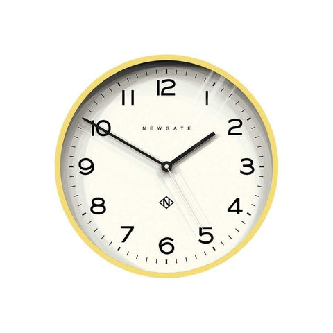 Newgate Echo Clock Yellow 37cm