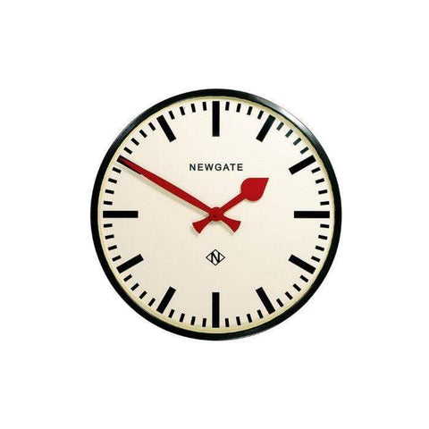 Newgate Putney Clock Black Small