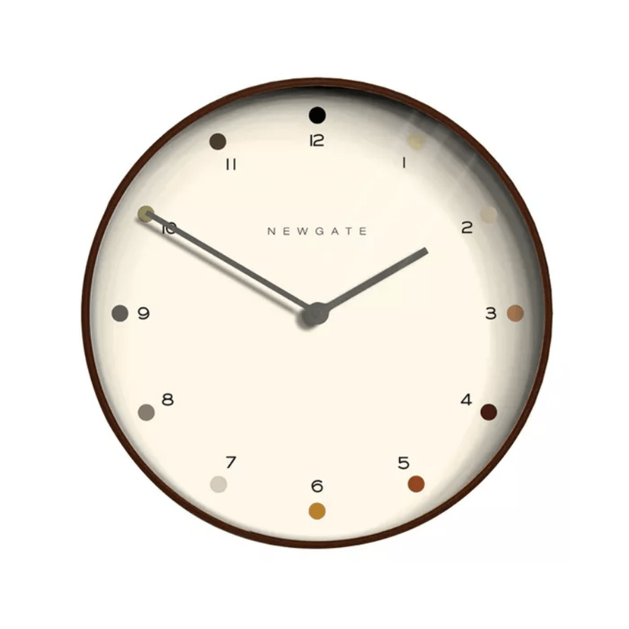 Newgate Wooden Dot Clock