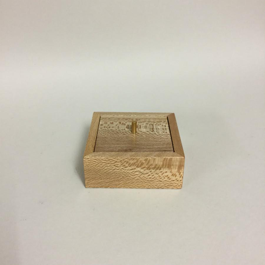 Nicholas Crozier Recycled Timber Box - Small