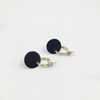 Noir Akusama Earrings
