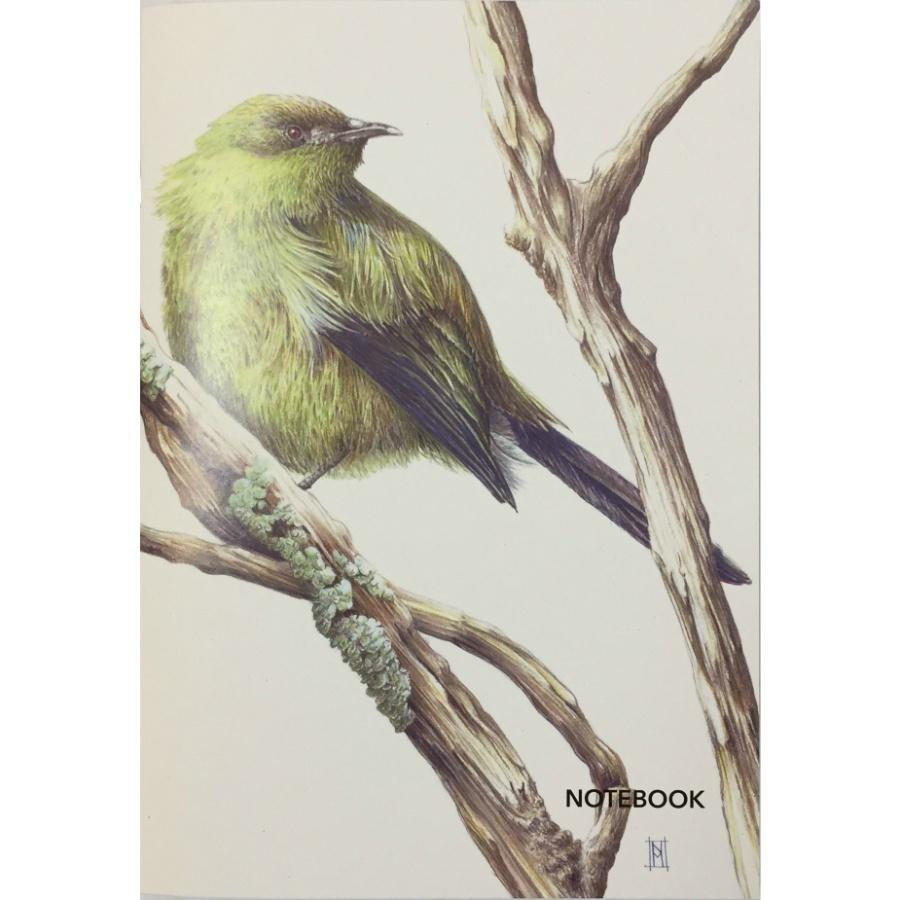 NZ Made Lined A5 Notebook / Bellbird