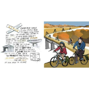 NZ Rail Trail Print