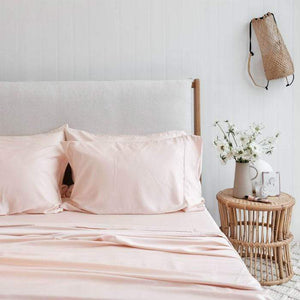 Organic Bamboo Sheet Set Blush